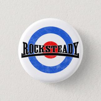 Rocksteadyモダンなボタン 3.2cm 丸型バッジ
