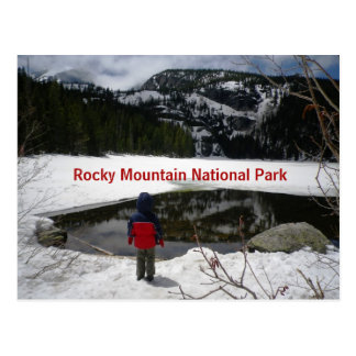 Rocky Mountain National Park Postcard ポストカード