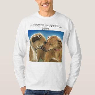 Rodesian Ridgeback愛人のワイシャツ Tシャツ