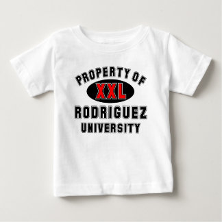 Rodiguez大学の特性 ベビーTシャツ