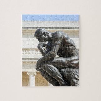 Rodinの思想家の彫像 ジグソーパズル
