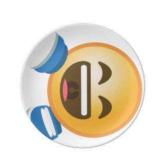 ROFL Emoji 磁器プレート