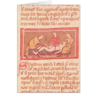 「Rogier de Salerne著外科の本」の版 カード