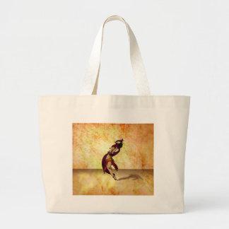 Rohesiaのダンサー ラージトートバッグ