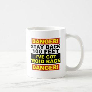 Roidの範囲の警告 コーヒーマグカップ