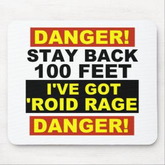 Roidの範囲の警告 マウスパッド