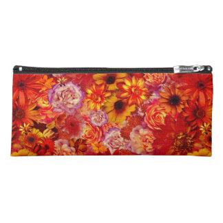 Rojoの花の明るい花束の豊富で猛烈なデイジー ペンシルケース