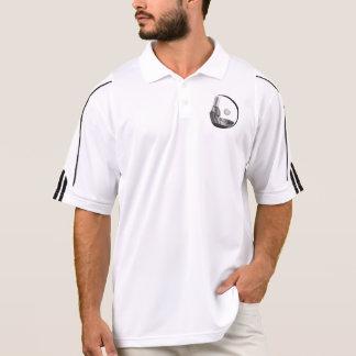 RokCloneDesignsの男性アディダスのゴルフClimaLite®のポロ ポロシャツ