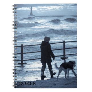 Rokerのドッグウォーカー ノートブック