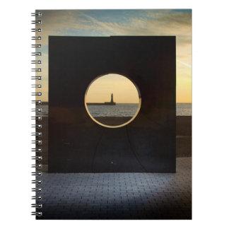 Rokerのノートのアートワーク ノートブック