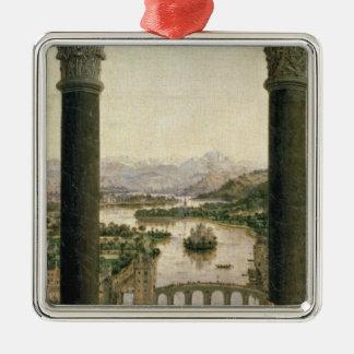 Rolinマドンナ、c.1435 メタルオーナメント