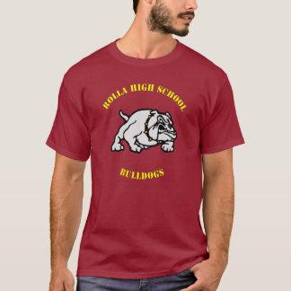 Rollaの高等学校のブルドッグのティーII Tシャツ