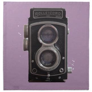 Rolleicordのすべてのための対の反射カメラのギフト ナプキンクロス