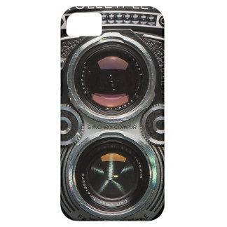 Rolleiflexのヴィンテージの反射カメラの箱 iPhone SE/5/5s ケース