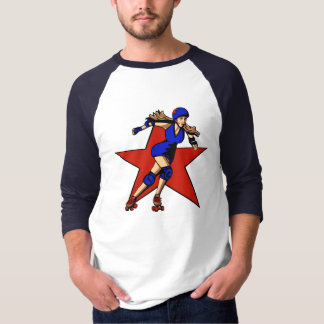 Rollergirlの妨害機 Tシャツ