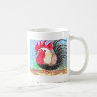 rolloのオンドリ コーヒーマグカップ