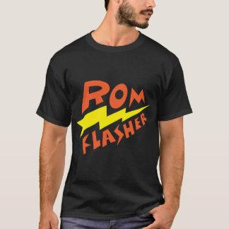 ROMの自動点滅装置7 Tシャツ