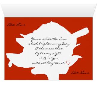 RomanceMeのロマンチックなカード カード