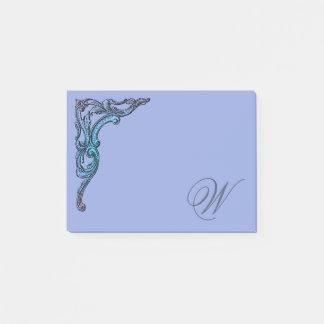 Romantic Pastel Steampunk Goth Personalized ポストイット