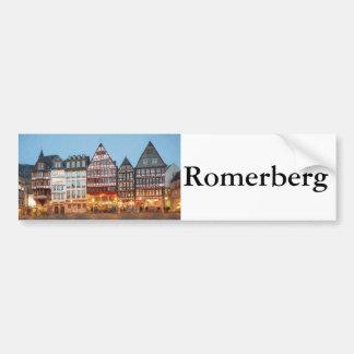 Romerberg バンパーステッカー