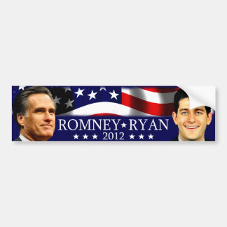 Romneyかライアン2012年 バンパーステッカー
