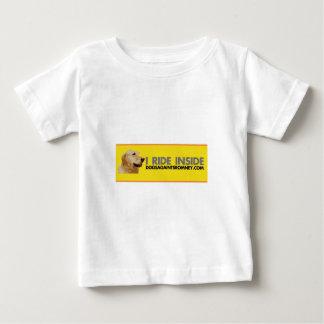 ROMNEYに対する犬 ベビーTシャツ