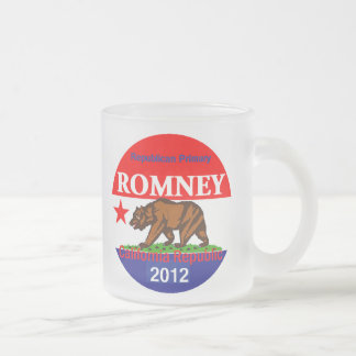 Romneyカリフォルニア フロストグラスマグカップ