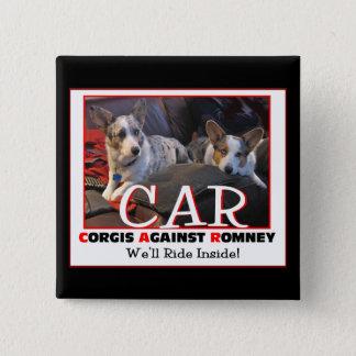 Romneyピンに対するコーギー 缶バッジ