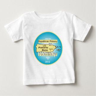 Romneyプエルトリコ ベビーTシャツ