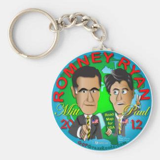 Romneyライアン米国 キーホルダー