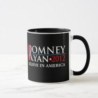 Romneyライアン2012のキャンペーン収集できるマグ マグカップ