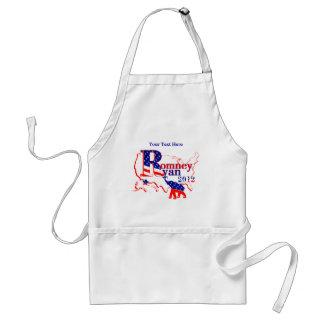 Romneyライアン2012年-人々のための勝利チーム スタンダードエプロン