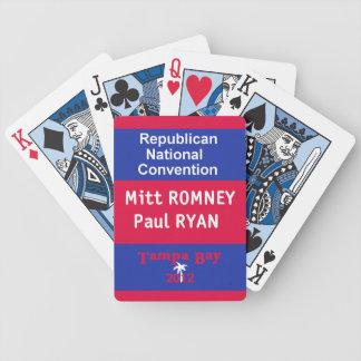 Romneyライアン バイスクルトランプ