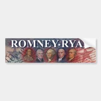Romney -ライアン-先祖 バンパーステッカー