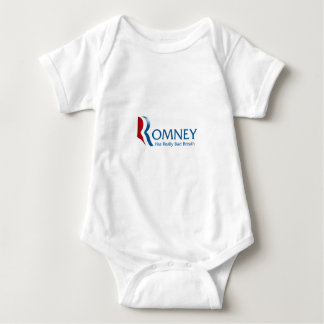 Romney -実際に口臭を持っています ベビーボディスーツ