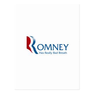Romney -実際に口臭を持っています ポストカード