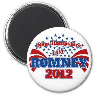 Romney 2012年のニューハンプシャー マグネット