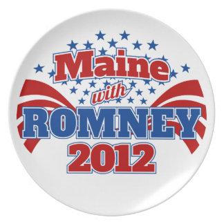 Romney 2012年のメイン プレート