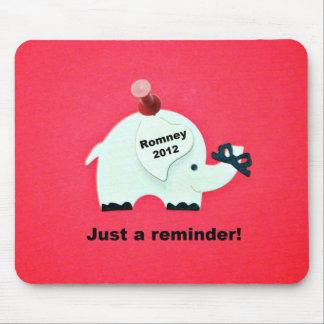 Romney 2012年-ちょうどメモ! マウスパッド