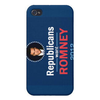 Romney 2012 Speckの場合のiPad iPhone 4/4S Cover