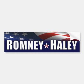 Romney - Haley- 2012年 バンパーステッカー