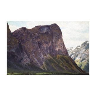RomsdalのHorgheimからのヨハンフレデリクEckersberg キャンバスプリント