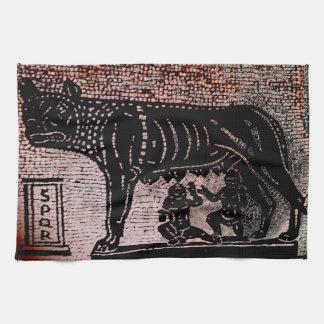 RomulusおよびRemus 台所タオル