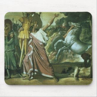 Romulusのtに彼の利得を取っているAcronの征服者 マウスパッド