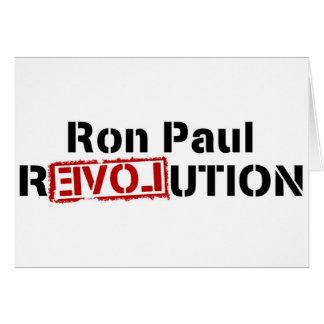 ronポール改革 カード