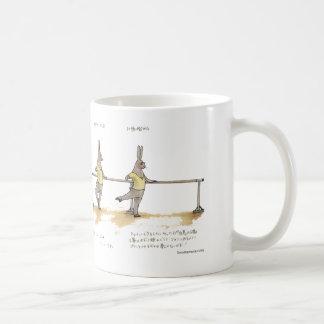 ROND DE JAMBE EN L'AIR コーヒーマグカップ