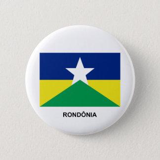 Rondôniaのブラジルの旗 缶バッジ