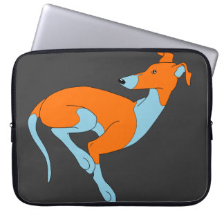 Rooのモデル(青及びオレンジ) ラップトップスリーブ