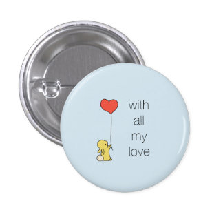 Roo -すべての私の愛の… 3.2cm 丸型バッジ