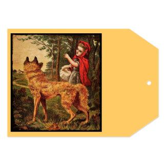 Roodkapjeのオランダの赤い乗馬フード カード